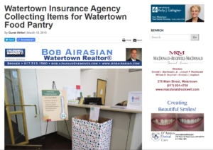 watertown fundraiser insurance agency